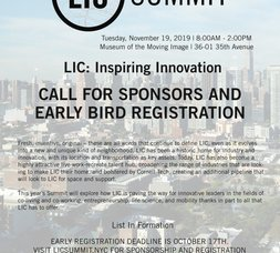 LICP News: LIC Summit Save the Date, LIC BID Annual Meeting, Electra Screening at MoMI, thelovemaze.com at MoMAPS1, Sunnyside Family Fun Bike Ride & 10th Annual Hispanic and Latinx Leadership Awards!