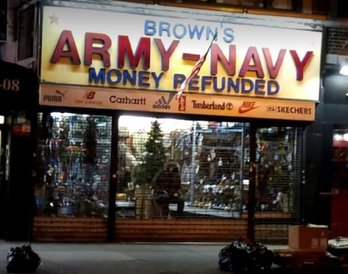 Brown's Army Navy