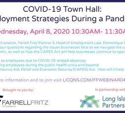 COVID-19 Town Hall: Employment Strategies During a Pandemic