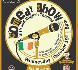 Alewife Comedy Show UK and Irish Themed