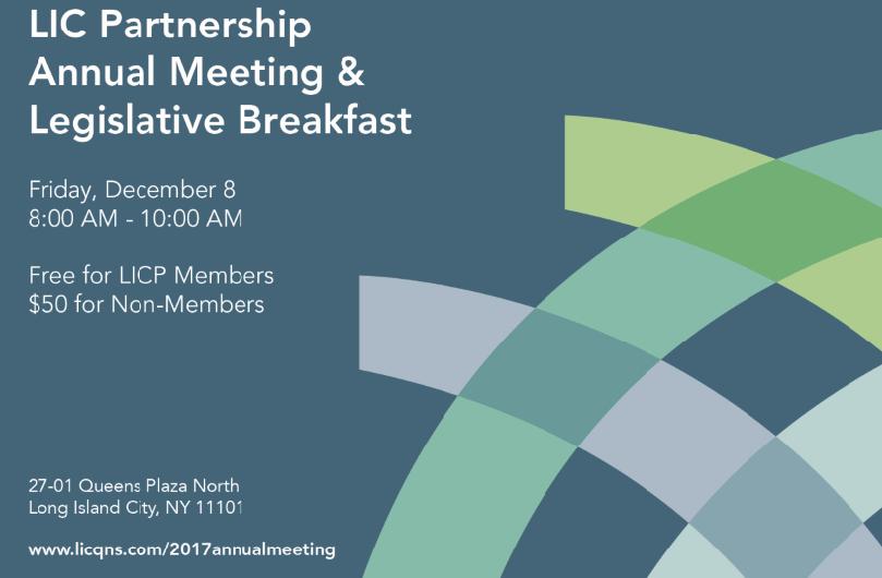 Licp Annual Meeting And Legislative Breakfast Events Long Island