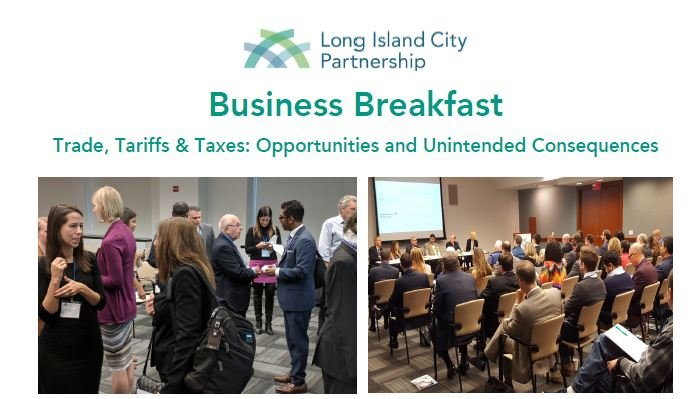 Business Breakfast: Trade, Tariffs & Taxes