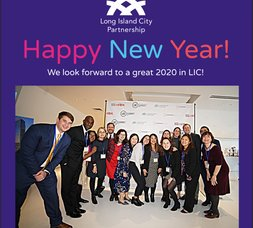 LICP News: Happy New Year from LICP, Register Now for our 2020 LICP Members Celebration, and  Christmas Tree-Cycling with DSNY & NYC Parks!