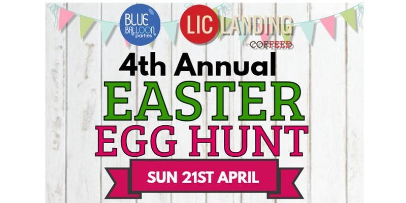 Blue Balloon Parties 4th Annual Easter Egg Hunt