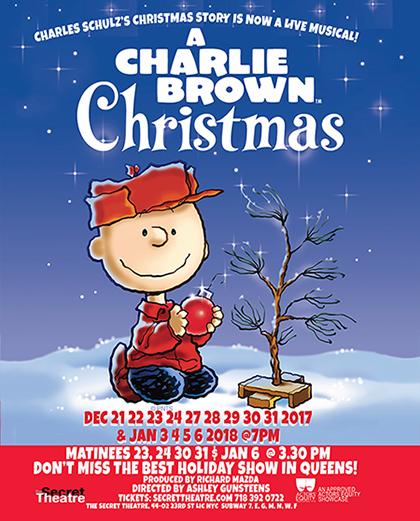 Christmas Charlie Brown.A Charlie Brown Christmas Events Long Island City