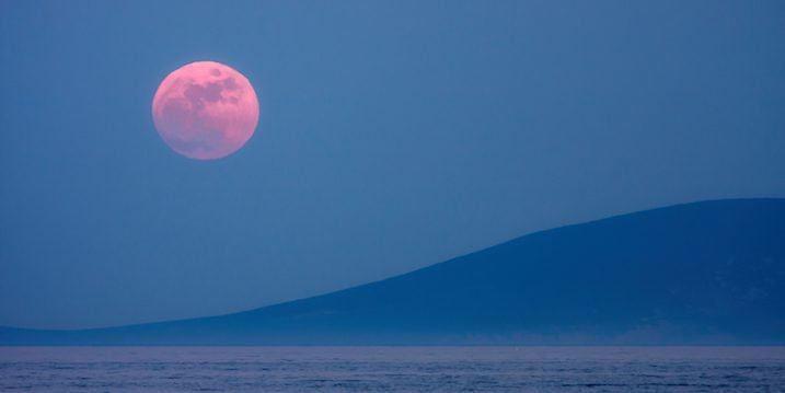 A Full Moon Affair March Pink