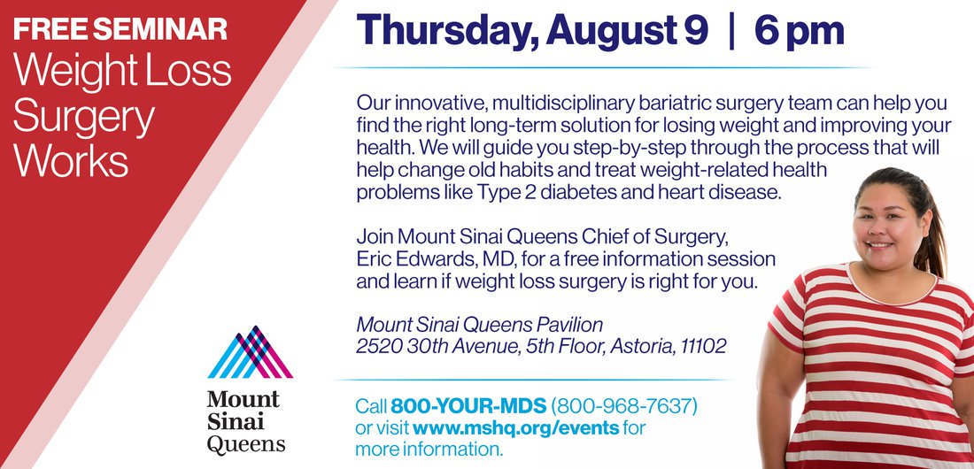 Weight Loss Surgery Works Events Long Island City Partnership