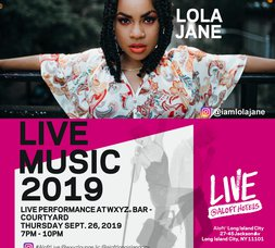 SEP  26    Live Music event : LIVE @ ALOFT : Lola Jane